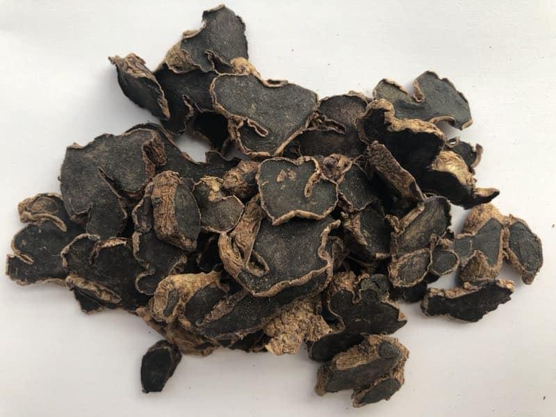 Black giner raw material