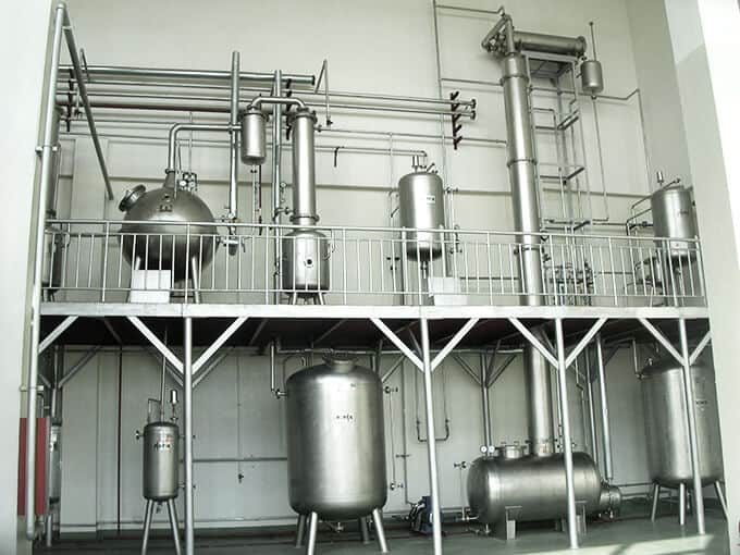 Nutritive chemical equipment