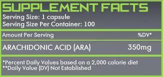 Arachidonic Acid formula
