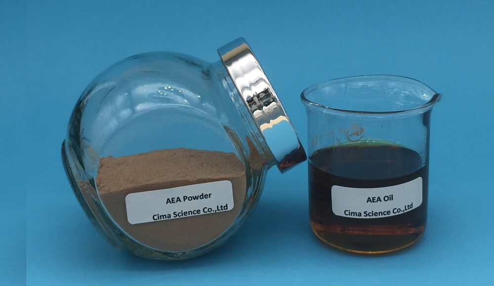 anandamide samples in powder and oil
