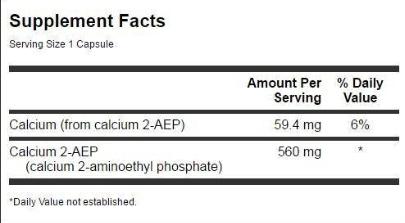 Swanson Calcium 2-Aep 560 Milligrams 90 Capsules