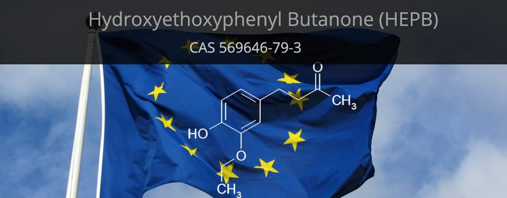 Hydroxyethoxyphenyl Butanone as cosmetic preservative in EU