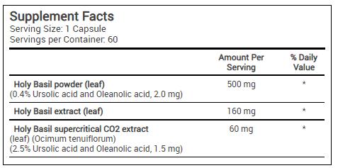 Oleanolic acid FORMULA