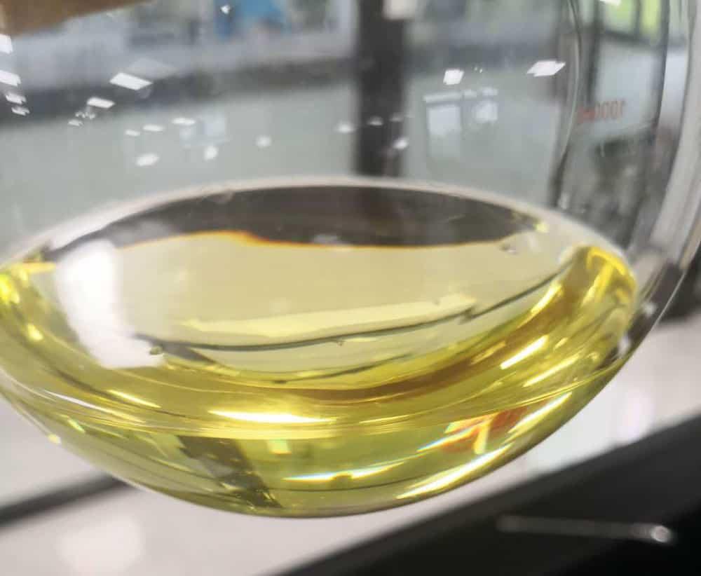 hydroxytyrosol liquid in lab bottle