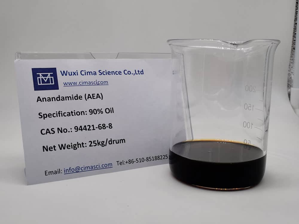 anandamide oil sample