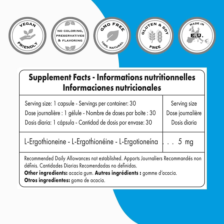 Ergothioneine supplements
