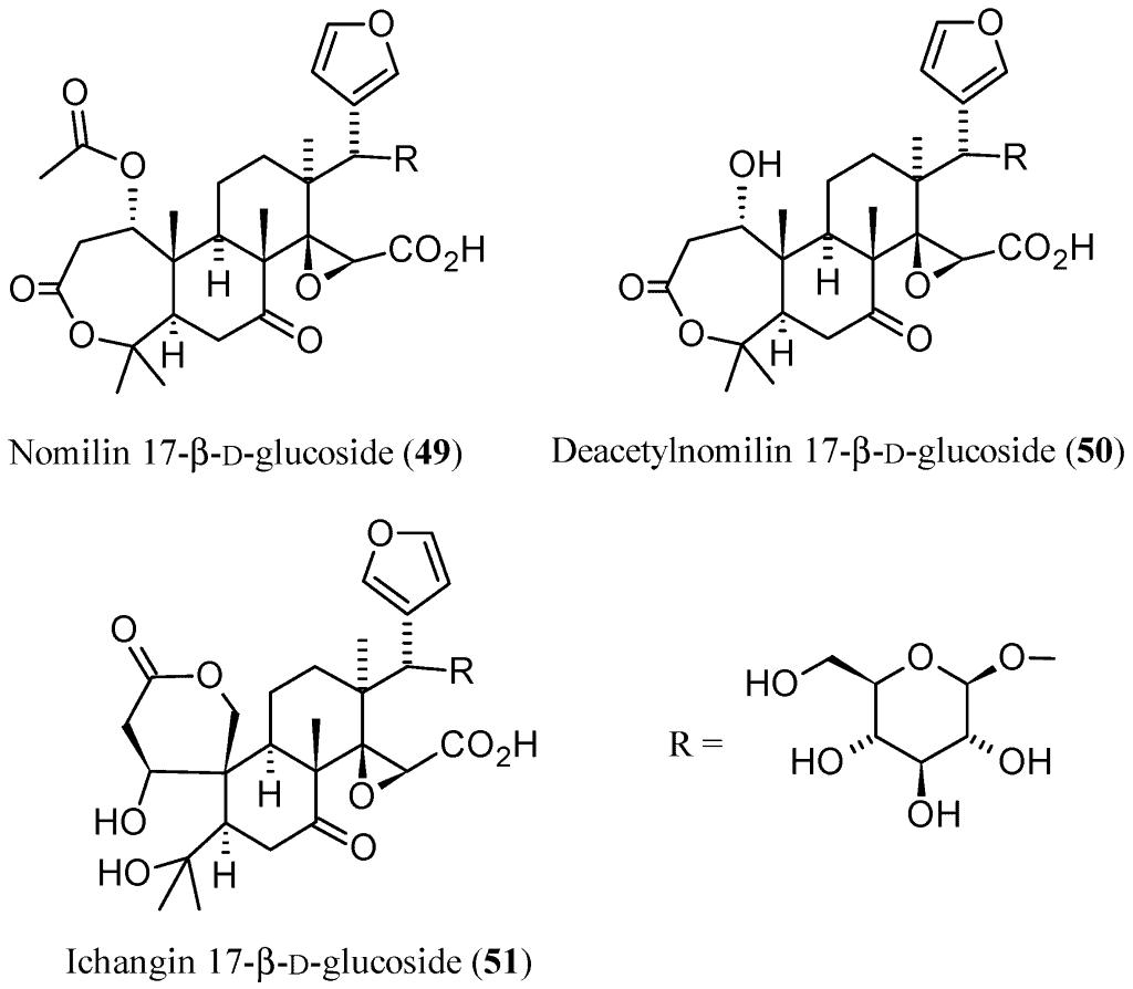 Limonin VS limonin glucoside (LG)